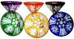 Colour crystal martini glasses 110ml
