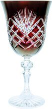Colour crystal wine glasses 170ml