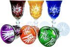 Colour liqueur glasses 60ml