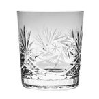 Crystal glasses for whisky 280ml