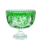 Crystal green bowl