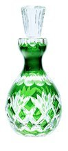 Crystal green carafe