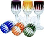 Crystal liqueur glasses 45 ml Line