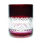 Ruby crystal glasses for whiskey 280ml
