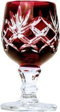 Ruby crystal vodka glasses 40 ml Pineapple