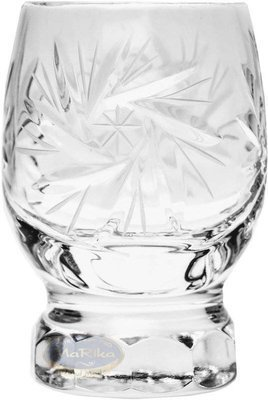 Crystal glasses for vodka 40ml