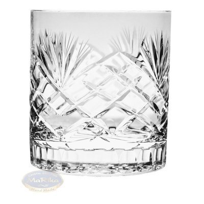 Crystal whiskey glasses 350 ml Pineapple